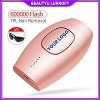 Permanent IPL laser hair removal machine 600000 flash epilator laser depilation electric hair remover machine women shaver
