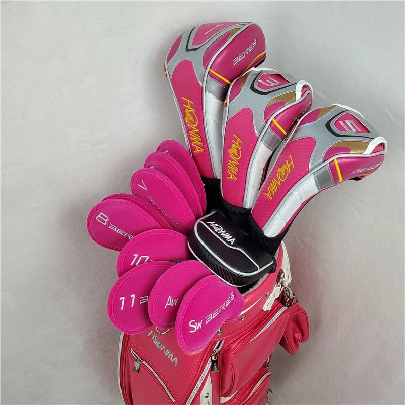 Limit discounts Women's Golf Complete Set Honma Beres IS-06 4 Star Club Set Driver+Fairway+Iron+Putter/13Pcs Graphite Shaft