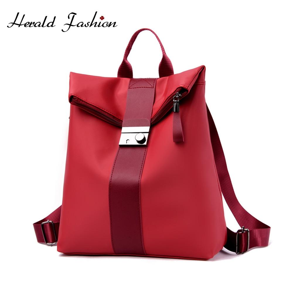 Newst Female Anti-theft Backpack Waterproof Oxford Women Backpack Fashion Female Travel Bag Brand Ladies Large Capacity Backpack