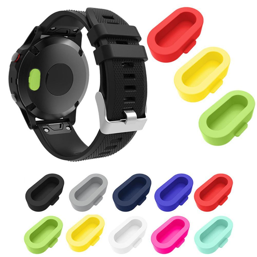 10Pcs Silicone Anti-dust Protective Cover Guard for  Fenix5/5S/5S Plus/5X Wearable Devices Smart Accessories