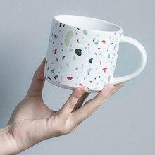 Funny Coffee Mugs Creative Ceramic Travel Cute Girl Bottle Yoga Printed Couple Cups Stirring Tasse A Cafe Caneca Travelmug EE5MK