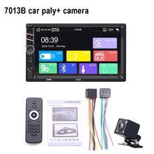 Caméra de commande du volant écran tactile   Autoradio, Radio FM, multi-media, lecteur MP5 7 pouces, 2 Din, Bluetooth, avec volant de direction, lecteur MP5