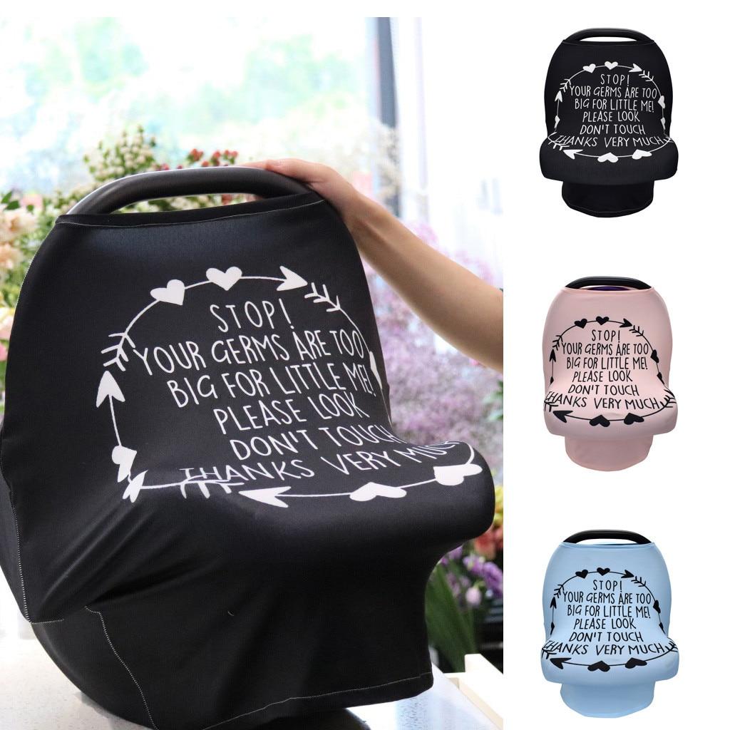 Asiento de coche de bebé cubierta elástica de lactancia materna asiento de coche de múltiples usos cubierta para carro de compras