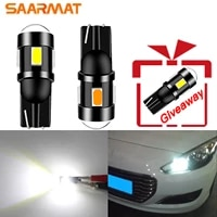 plug and play t10 led bulb daytime running lights interior reading parking lights for peugeot 4008 307 206 308 407 207 3008 2008