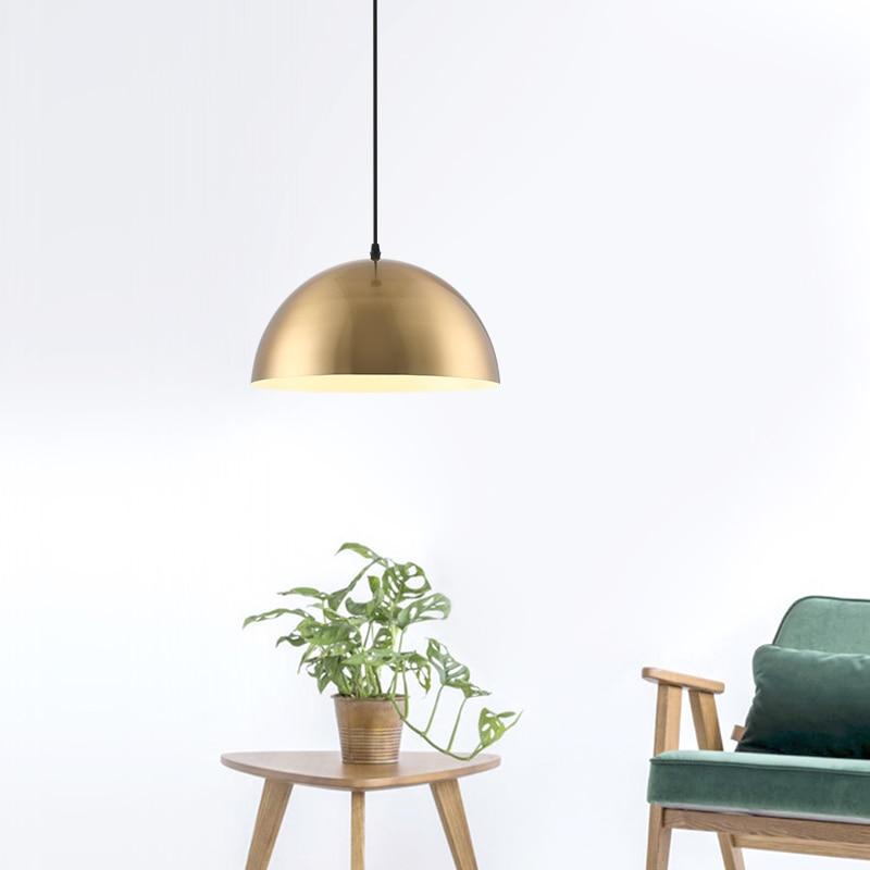 Lámparas colgantes modernas de hierro, lámparas de techo, moderna