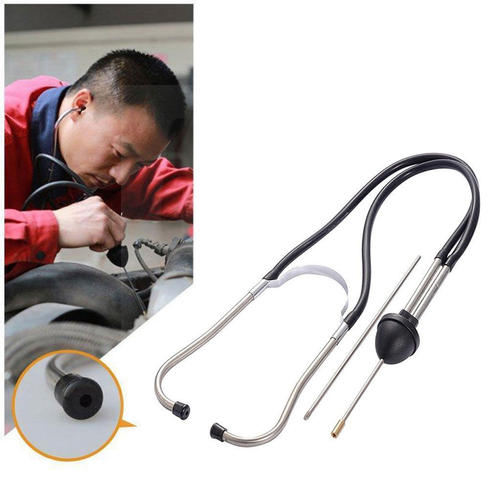 Sound Diagnostic Tools Car Abnormal Device Mechanics Cylinder Engine Stethoscope Auto Check Hearing Tools Anti-shock Detect car mechanical cylinder stethoscope abnormal engine noise diagnostic tool automotive engine hearing tool cylinder detection