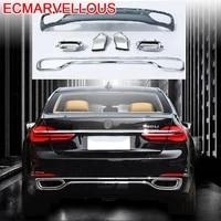trasero aileron voiture tuning parachoques splitter spoiler delantero front car protector coche lip bumper 2018 for bmw 5 series