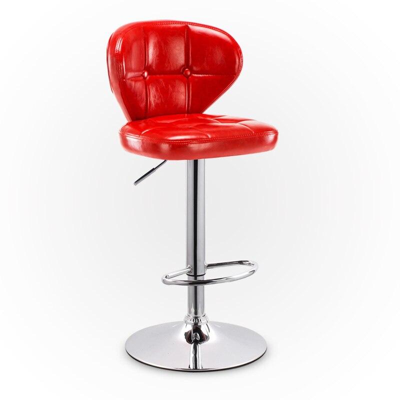 Taburetes de Bar modernos minimalistas, taburetes altos para el hogar, mesas y sillas de bar para levantar el escritorio frontal, sillas de bar para cajero
