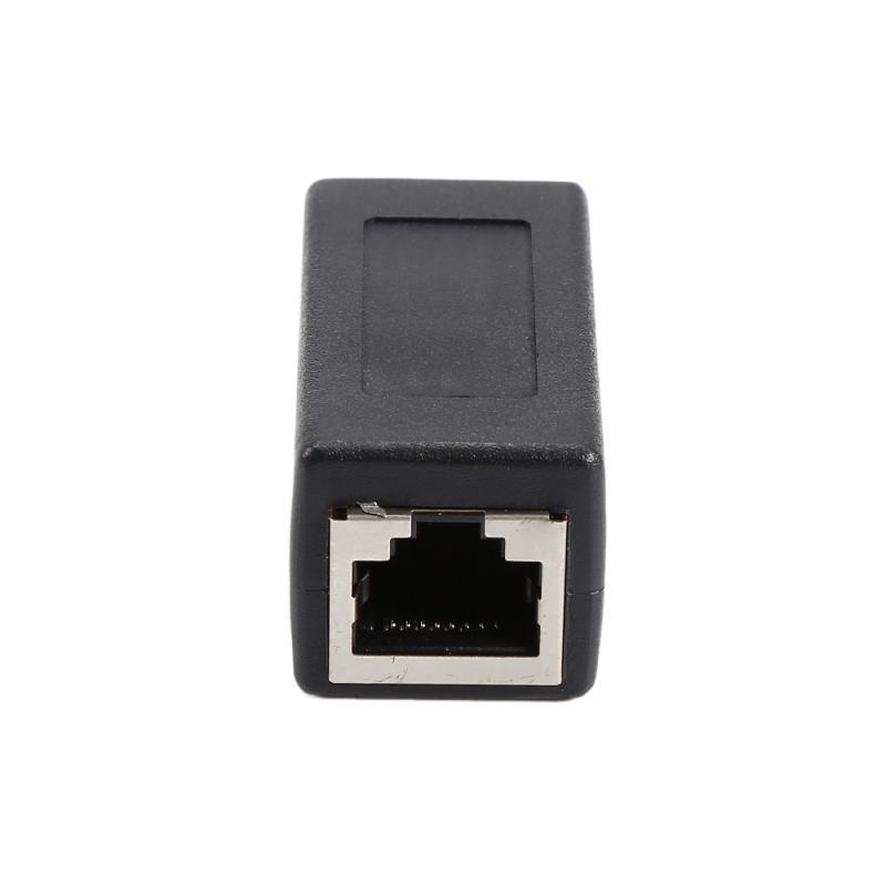 Más RJ45 acoplador de Cable Ethernet acoplador conector LAN en línea Cat7/Cat6/Cat5e...