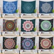Indische Mandala Wandteppich Hängen Sandy Strand Werfen Teppich Decke Camping Zelt Reise Matratze Böhmischen Schlafen Tapisserie