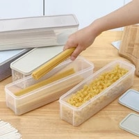 plastic grain spaghetti box cutlery noodle storage box chopstick boxes airtight food canister for kitchen containers and storage
