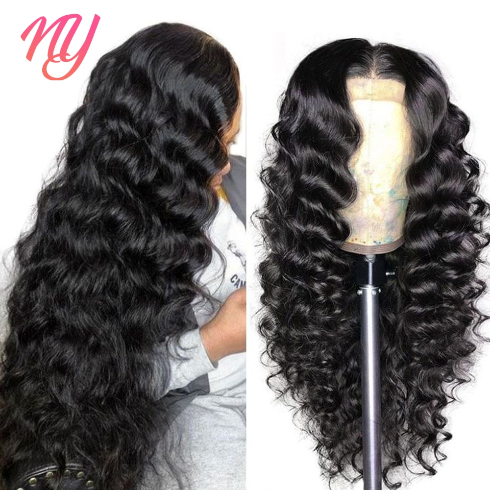 32 Inch Loose Wave Lace Front Wig 13x4 Deep Wave Frontal Wigs For Women Human Hair 4x4 Clsure Wig Preplucked Remy Lace Wig