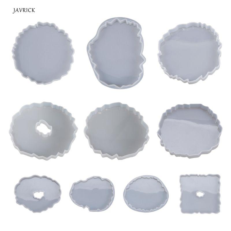 AliExpress - Silicone Crystal Epoxy Resin Mold Irregular Wave Coaster Mat Casting Mould Handmade DIY Crafts Decoration Making Tool