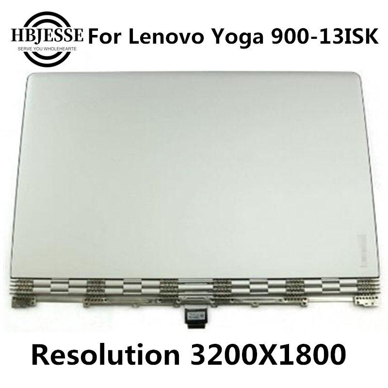 "13 pulgadas lcd de la Asamblea para Lenovo Yoga 900 13 900-13ISK 13,3 ""3K LED Lcd MONTAJE DE PANTALLA TÁCTIL 3200*1800"