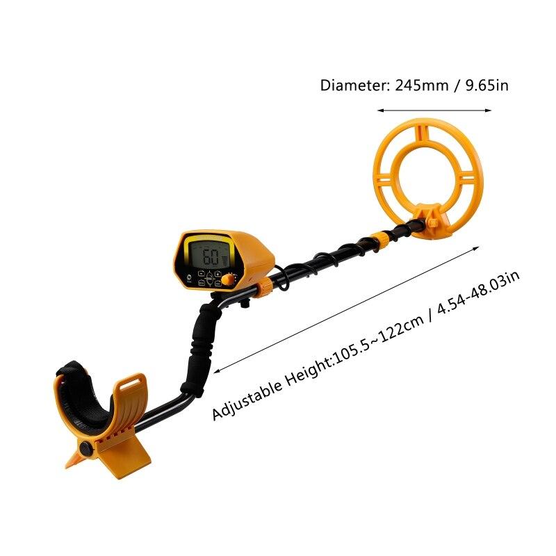 MD3030 Metal Detector Waterproof Professtional Underground Metal Detector Pinpointer Gold Finder Jewelry Treasure Hunter