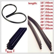Car Windshield Rubber Wiper Wash Blade Refill for Kia Provo K9 Cross Carens CUB Trackster Ray K2 Naimo Pro Venga