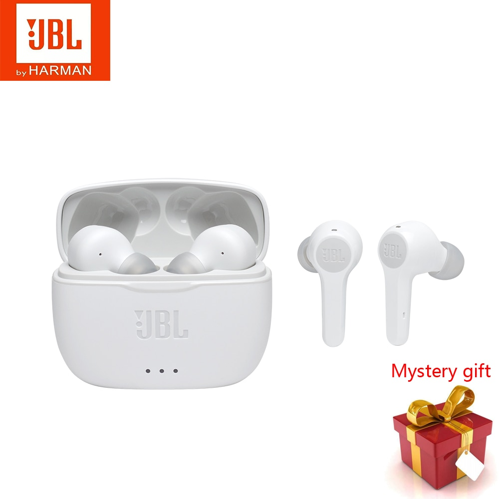Verdadeiro sem Fio Fones de Ouvido Fone de Ouvido Dupla sem Fio Fones de Ouvido com Microfone Bluetooth Estéreo In-ear Música 5.0 Ligação com Microfone Jbl Tune215tws