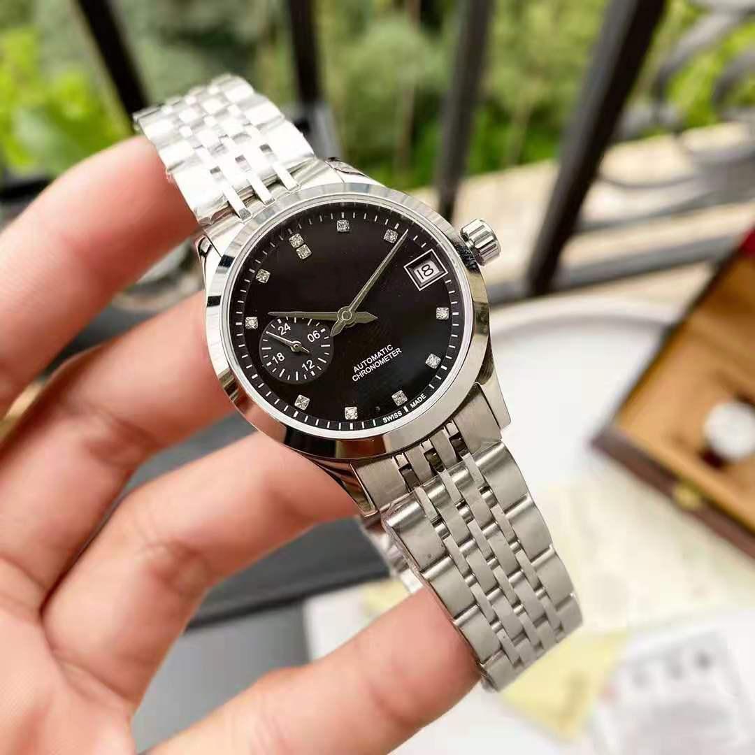 2021Top Luxury Brand Ladies Watch Stainless Steel Automatic Mechanical Watch Diamond Sapphire Belt Steel Belt 50 Meters AAA+