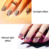 rainbow color nail glitter powder holographic pigment glitter manicure nail art decoration soyw889