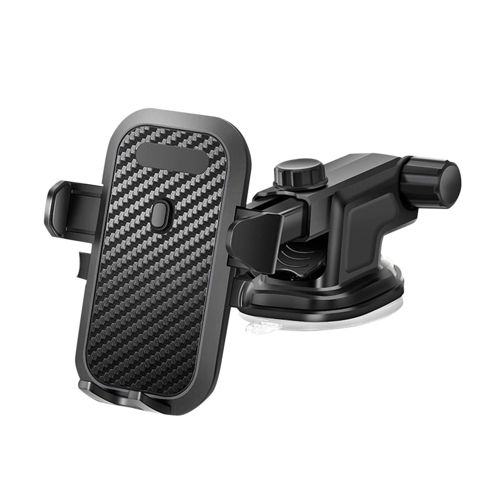 Car Suction Cup Mobile Phone Holder Navigation Bracket 360 Degree Rotation Car Telescopic Mobile Pho