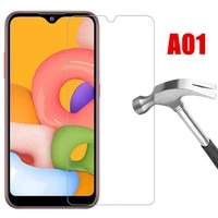 3pcs 9h protective glass for samsung a01 galaxy a 01 a105f safety screen protector on samsung galaxy a 01 phone tempered glass