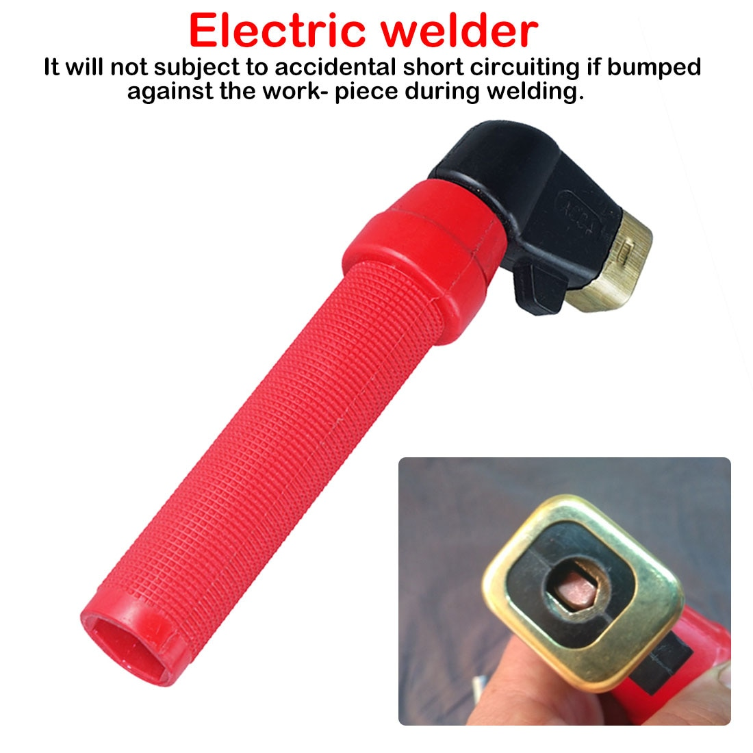 Welding Accessories 400A Electrode Weld Holder ARC Welding Holders For Arc Welder
