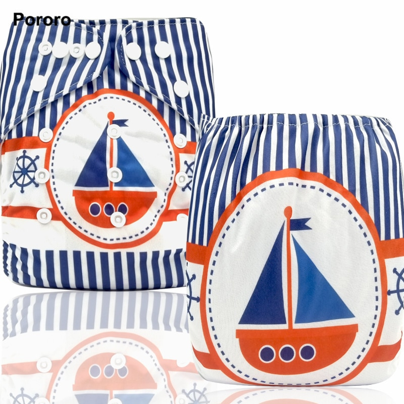 pororo sgs certificated new coming waterproof pul fabric for baby reusable diaper handmade cloth diaper fabric PORORO new coming postional digital print pocket diaper, printed one size cloth baby diaper