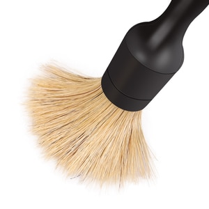 Image 4 - Полипропиленовая щетка SPTA с ручкой в виде змеи для чистки салона автомобиля с натуральными волосами кабана, щетка для чистки сидений, приборной панели, воздуховыпускного отверстия