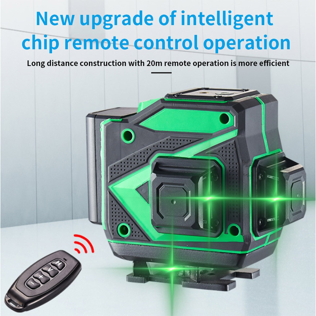 Laser Level 8/12/16 Lines 3D Self-Leveling 360 Horizontal And Vertical Cross Super Powerful Green Laser Beam Line