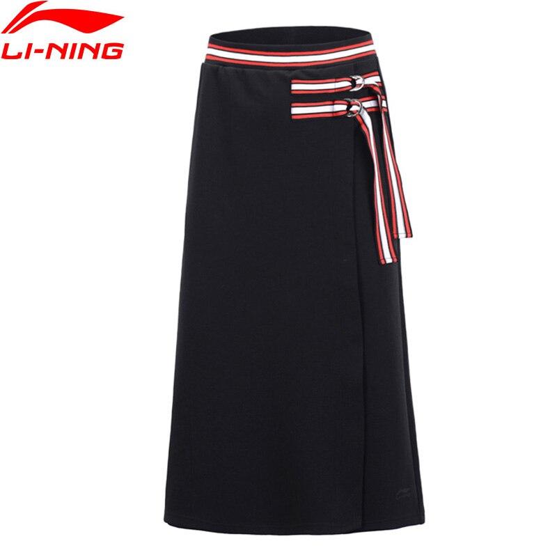 (Brechen Code) li-Ning Frauen Die Trend Rock Shorts 70% Baumwolle 30% Polyester Hit-Farbe li ning Futter Sport Böden ASKP026
