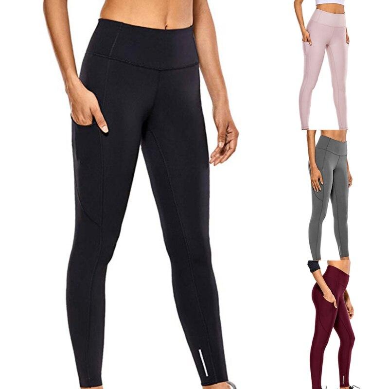 2021 venda quente de fitness feminino leggings comprimento total 4 cores correndo calças confortáveis e formfitting calças yoga