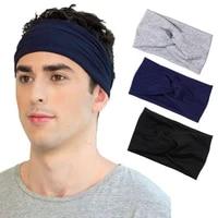 2021 twist turban headband boho wide summer hair band soft fabric headbands for women girls thick fashion hair accessories gift
