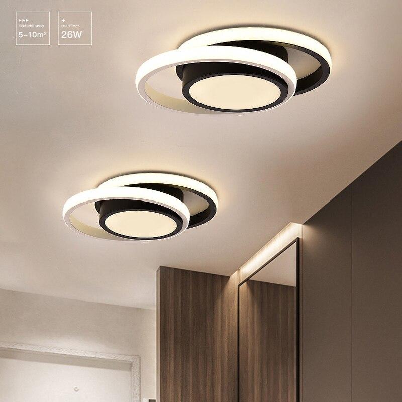 modernas luzes de teto led para sala estar quarto cozinha corredor minimalista varanda