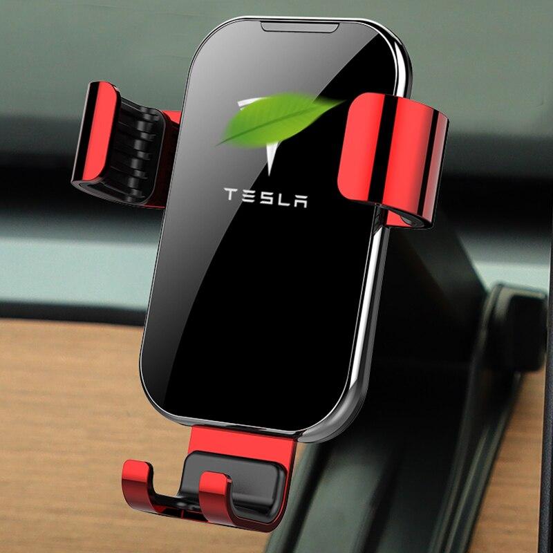 for Tesla modleX/modleS dedicated car navigation bracket car mobile phone bracket instrument panel bracket GPS bracket 2201 phone bracket mobile phone bracket magnetic car navigation bracket