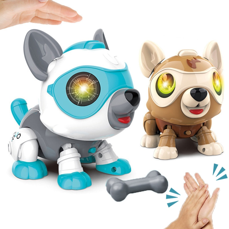 Intelligent Robot Dog Electric Remote Control Toys for Kids Toddlers Children Boys Girls Gifts Babys Toy RC Animals Robots Pets