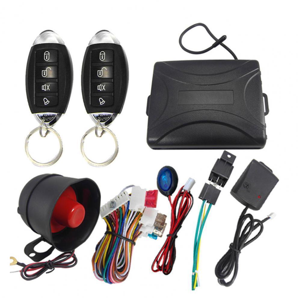 Универсальная односторонняя Автомобильная сигнализация 802-8229, металлическая охранная сигнализация, охранная система для автомобилей, защи...