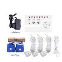 wld 806 dn152pc water leakage detector flood alert overflow protection water sensor alarm system with 3pc 6meters water cable
