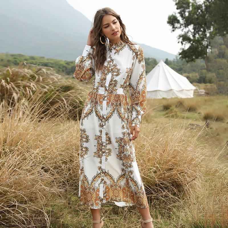 2020 designer new women's dress women's summer fashion party temperament dress beach holiday dress