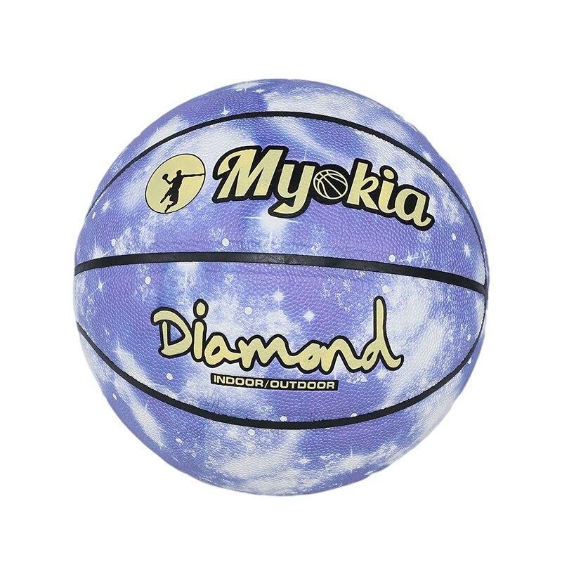 Светоотражающий баскетбольный мяч № 7, износостойкий светящийся светильник Ник, баскетбольный мяч, светящийся баскетбольный мяч, рождеств...