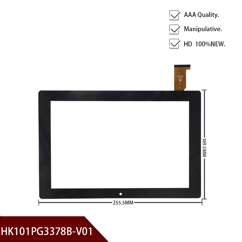 High Quality 10.1'Inch HK101PG3378B-V01 Tablet PC Capacitive Touch Screen Panel Digitizer Sensor Rep