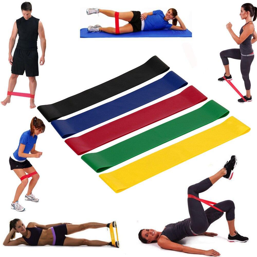 Эластичные резинки для йоги, эластичные повязки для упражнений, домашний тренажерный зал, фитнес, Премиум натуральный латекс, домашнее спор...