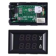 Mini voltmètre numérique ampèremètre 0.28 pouces DC 100V 10A 100A panneau ampèremètre Volt testeur de courant 0.28