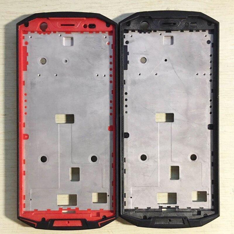 أسود/أحمر/برتقالي لـ Doogee DOOGEE S70 غطاء هاتف محمول لـ DOOGEE S70 LITE إطار متوسط إطار أمامي قوقعة شاشة قوس