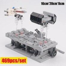 New Star TIE Series MOC-38337 Bomber Fit Lepinings Star Wars Building Blocks Figures Bricks Children Fighter Toys Kid Gifts