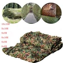 8x8M zu 10x10M jagd military camouflage net woodland military camouflage net camping zelt markise