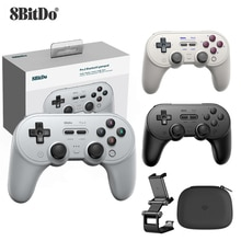 8Bitdo Pro 2 Bluetooth Gamepad Control for Switch PC macOS Android Steam For Raspberry Pi For Ninten