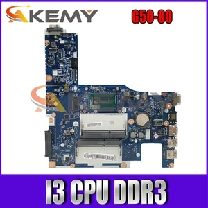 Akemy ACLU3/ACLU4 UMA NM-A362 Motherboard For Lenovo G50-80 Laptop Motherboard CPU I3 DDR3 100% Test