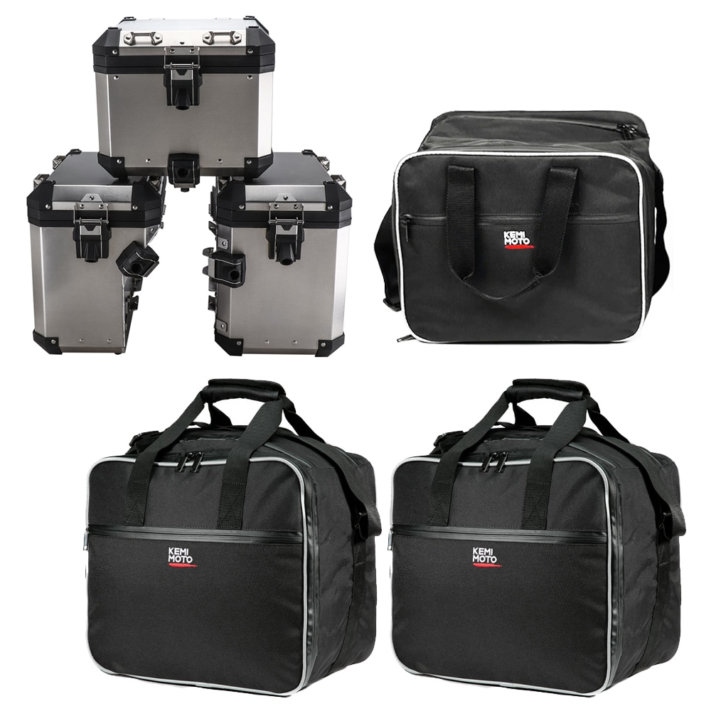 Motorcycle Luggage Bags for BMW R1200GS Adv Black Inner Bags R 1200 GS adventure WATER-COOLED 2013-2