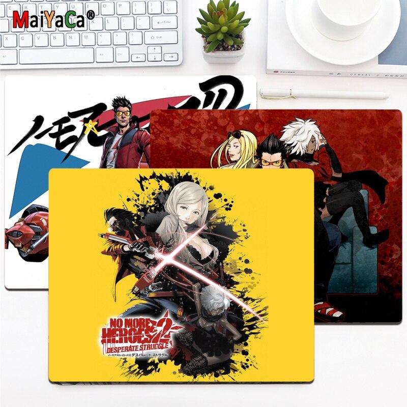 Высококачественный игровой коврик для мыши MaiYaCa для ноутбука No More Heroes, гладкий коврик для мыши, настольные компьютеры, игровой коврик для мы...
