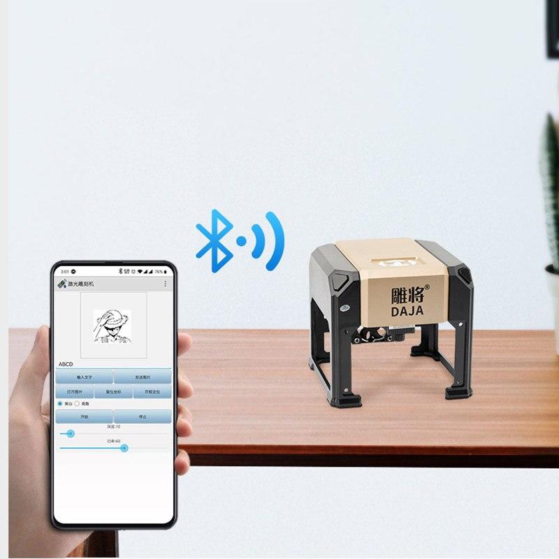 Carving Mini Mini Laser Engraving Machine Portable Smallest Palm DIY Engraving Universal Home Laser